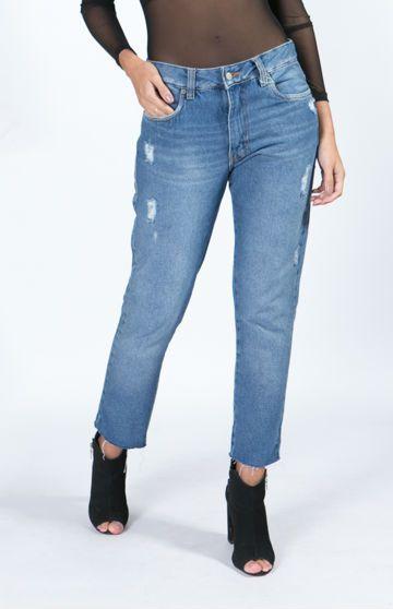 Calça BoyFriend Refarm Jeans Farm