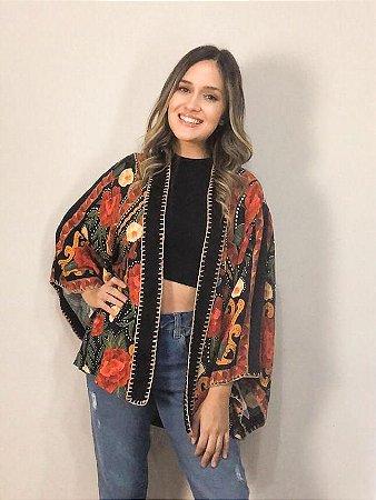 Kimono Feminino Estampado Monique