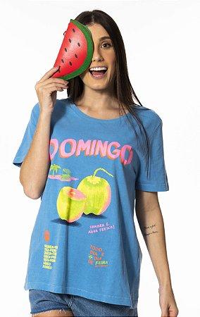 T-shirt Estampada Domingo Farm