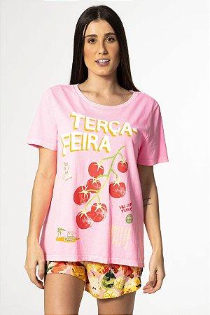 T-shirt Estampada Terça-Feira Farm
