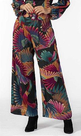 Calça Pantalona Estampada Frescor de Tucano Farm