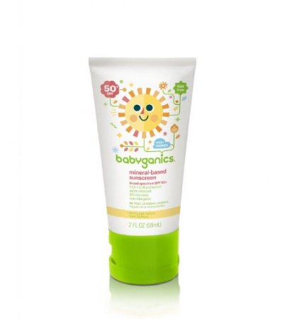 Protetor solar babyganics orgânico