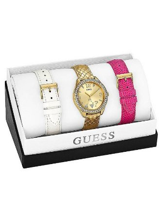 GOLD-TONE ICONIC AND TRENDY WATCH SET
