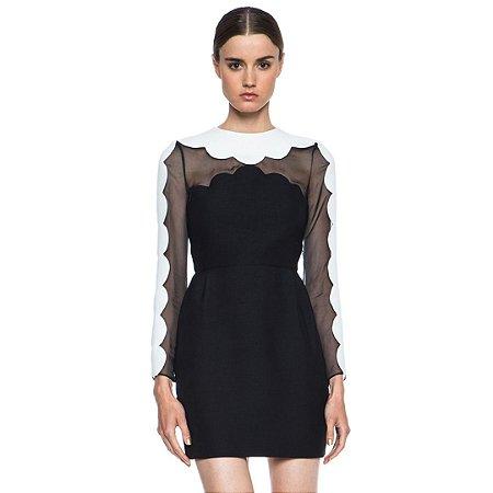 vestidos simples tubinho preto