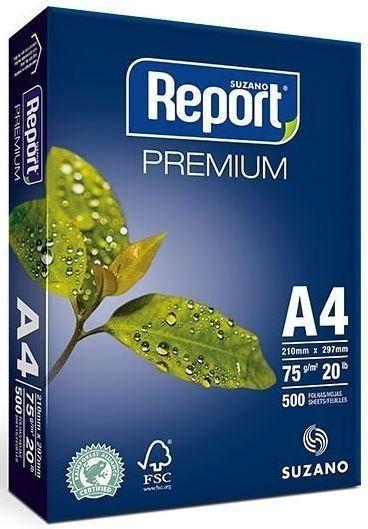 Papel Sulfite Branco A4 75g Report Premium