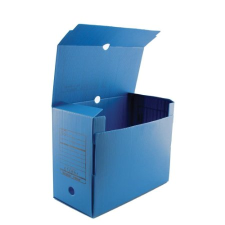 Arquivo Morto Polionda Azul c/ Impressão - Alaplast