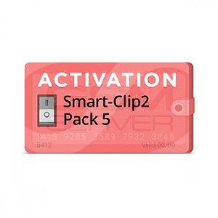 Pack 5 Ativação para Smart-Clip2