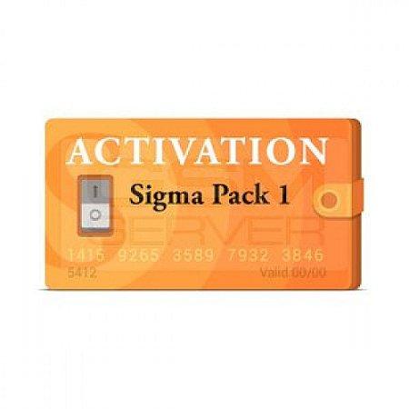 Ativação Sigma Pack 1