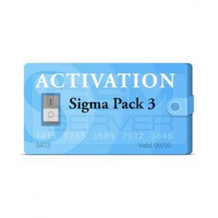 Ativação Sigma Pack 3