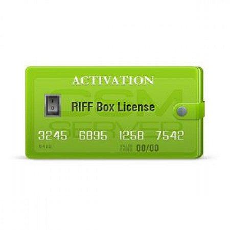 Ativação RIFF Box