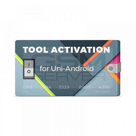 Uni Android Tool Ativação 1 Ano