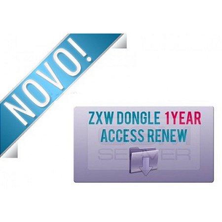 Ativação ZXW Dongle Acesso de 1 Ano
