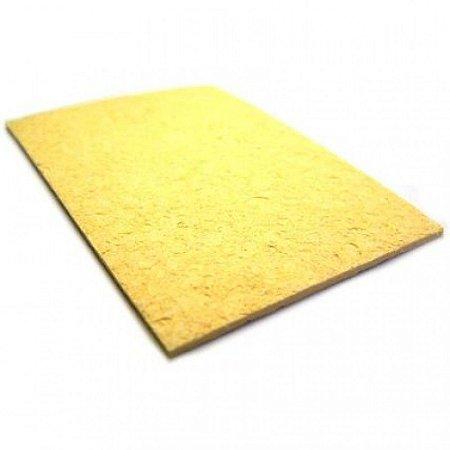 Esponja Vegetal Para Limpeza De Ferro De Solda 1 Peça