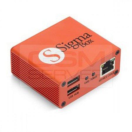Sigma Box Com Kit De Cabos 9 Peças Basica