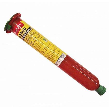 Cola UV Yaxun YX 2500 Cilindro Vermelhoo 50gr