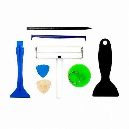 Kit Espatula Com Rolo + Ventosa Yaxun 687