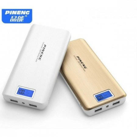 Carregador Portátil Power Bank Pineng 20000mha Original