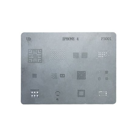 Stencil Para Reballing E Bga Iphone 4G P3001