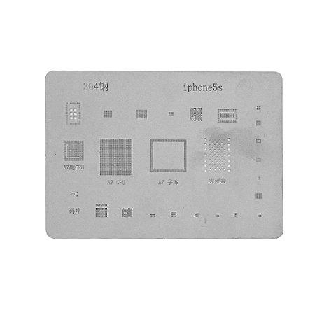 Stencil Para Reballing E Bga Iphone 5S P304