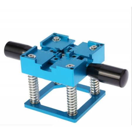 Suporte Bga Reballing Azul Com Molas 90 Por 90 mm