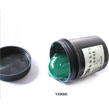 Tinta Uv Pcb mascara Uv Verde Pote De 100gr