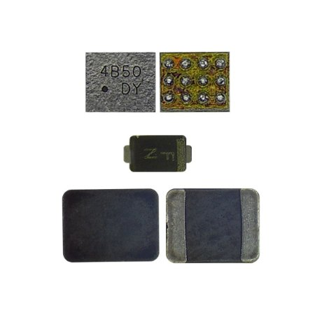 IC Kit 3X1 Backlight Iphone 6G 6G Plus D1501 Diodo + U1502 + L1503 Bobina 3 P