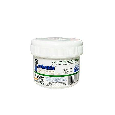 Tinta UV Pcb Mascara UV Mechanic UVH 900 100cc Verde