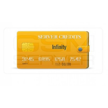 Pacote de Créditos do servidor Infinity