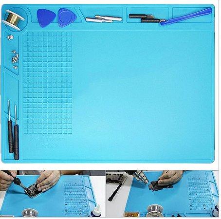 Tapete manta de silicione profissional s130 350mm 250mm