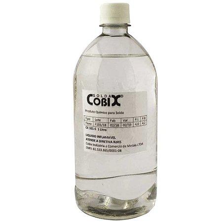 Fluxo De Solda Liquido Cobix Cx101 1 Litro