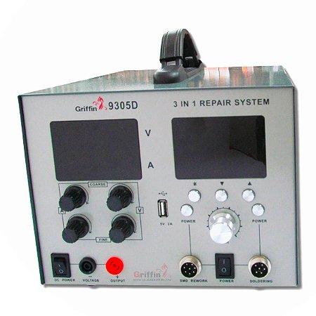 Estação de Solda Digital 5A Griffin 9305D 220v  +  brinde