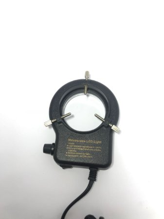 Lampada De Led Para Microscopio Ty63 Bivolt Preta