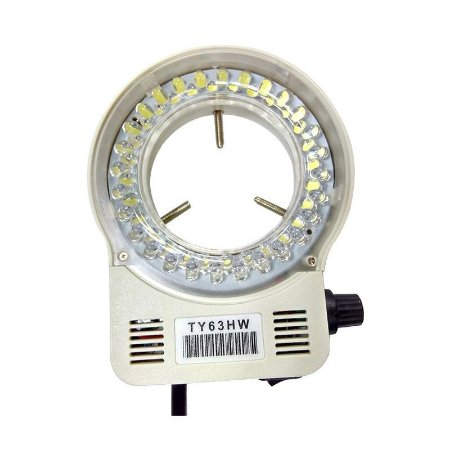 Lampada De Led Para Microscopio Ty63 Bivolt Branca