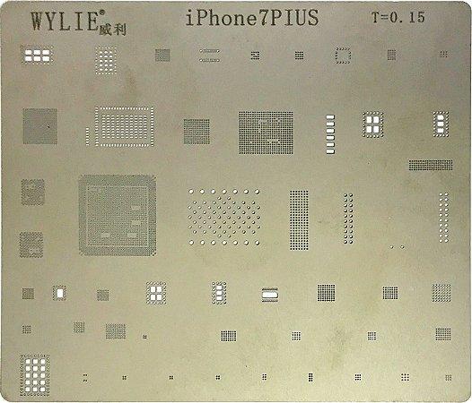 Stencil Wylie Para Reballing E Bga Iphone 7Plus