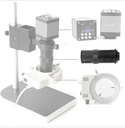 Lente Camera Microscopio C Mount