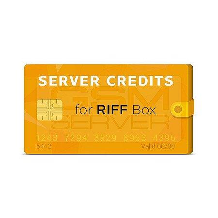 Pacote de 30 Créditos Riff Box