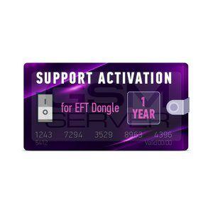 EFT Ativação 1 ano de Suporte