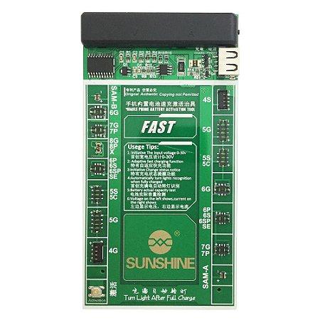 Placa Reativadora De Bateria Sunshine SS-901A Iphone 4 ao X Samsung
