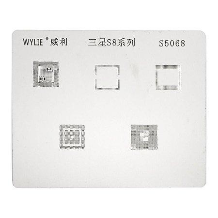 Stencil Para Reballing E Bga Samsung S8  S5068