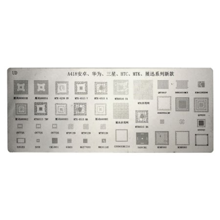 Stencil BGA A418 HTC MTK