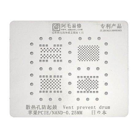 Stencil PCIE NAND 0.25 4x1 iPhone 5s 6 7 8 X