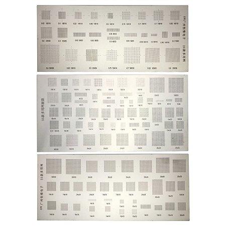 Kit Stencil BGA Universal 26 33 55