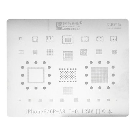Stencil A8 iPhone 6 6 Plus Amaoe