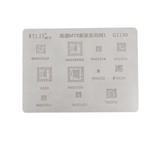 Stencil Wylie Para Reballing E Bga  Mtk g1130
