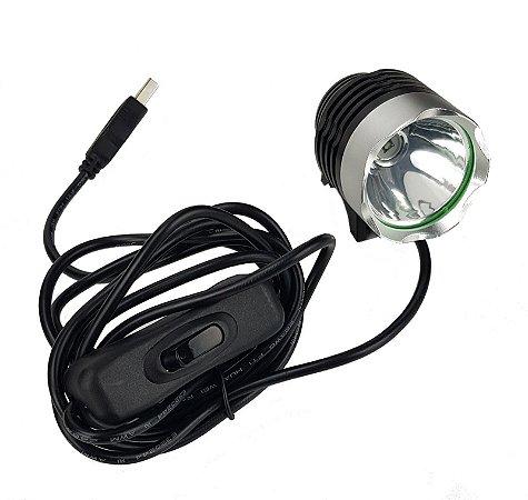 Mini Lampada uv usb Luz uv com Controle de intensidade