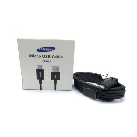 Cabo usb Samsung Micro usb Preto Caixa