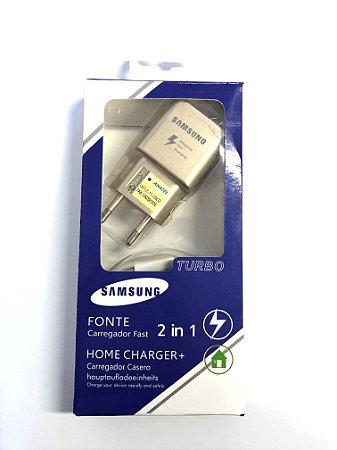 Carregador Samsung Ep-TA200 n7 Micro usb Dourado