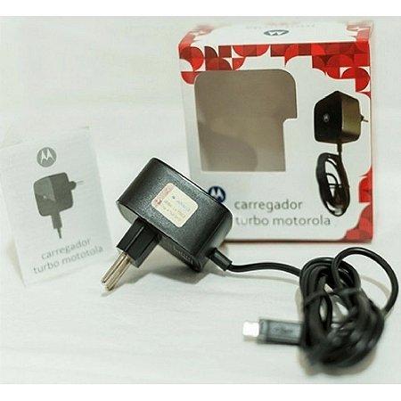 Carregador Motorola Turbo SSW-2680BR ZTD PRETO micro usb v8