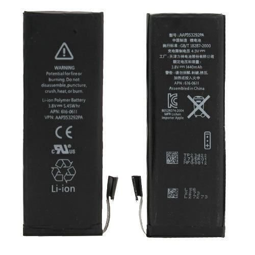 Bateria iPhone 5G 1440mah 3.8V 5.45whr