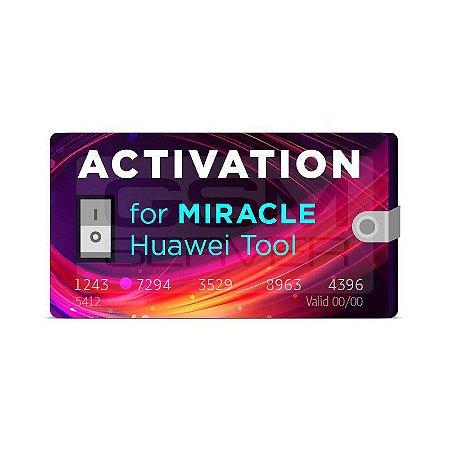 Ativação Huawei Tool Miracle 1 Ano